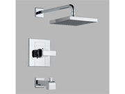Delta T14486-SHQ Urban - Arzo Chrome Monitor 14 Series Tub/Shower Trim