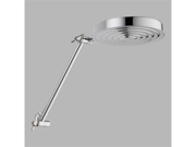 Delta 52687-PK Universal Showering Components Chrome Adjustable Arm Raincan Show