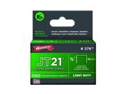 Arrow Fastener 276 3/8-In. X 7/16-In. Crown JT21 Staples - 1000-Pack