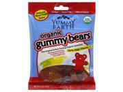 Yummy Earth 563932 Organic Gummy Bears Case Of 12 5 Oz