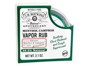 J.R. Watkins: Menthol Camphor Vapor Rub, 2.1 oz