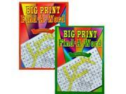 Bulk Buys GM596 Big Print Find A Word Puzzle Book Case of 144