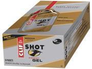 Clif Bar 665794 Clif Shot Organic Mocha Case Of 24 1.2 Oz