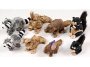 Hartz 04355 Small Natures Collection Plush Dog Toy