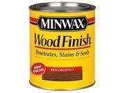 Minwax 70046 Wood Finish Interior Wood Stain, Red Chestnut - 1 Quart