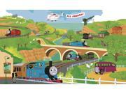 RoomMates YH1415M Thomas the Train Full Size Prepasted Mural 9-Foot x 15-Foot Ul
