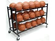 Trigon Sports CART330 Heavy Duty Double Wide Ball Cart