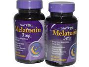 Natrol Melatonin Tablets 3mg, - 60 Tablet Bottles