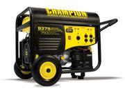 Champion 41537 7500/9375 Watt Portable Gas-Powered Generator Electric Start CARB