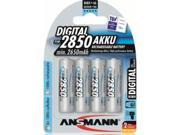 Ansmann 5035092 Ansmann 2850 mAH Digital 4 -Pack