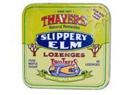 Thayers Sugar-Free Slippery Elm Lozenges Maple Syrup 42 Lozenges