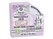 J.R. Watkins 542183 Hand And Cuticle Salve Lavender 2.1 Oz