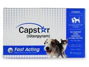 Capstar CG-61011 Capstar For Cats And Dogs 2-25 Lbs 6 Pill Card