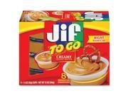 Folgers FOL24136 Jif To Go Creamy Peanut Butter Cups Pack of 8
