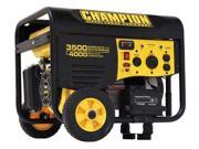 Champion 46565 3500/4000 Watt Remote Start Portable Gas-Powered Generator