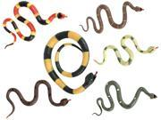 Toysmith 01755 Super Stretchy Snake Assorted Colors and Styles