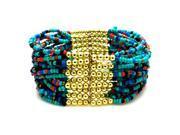 Tioneer Multi-strand Tribal Layering Exotic Stretchable Bracelet
