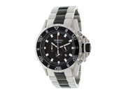 Precimax Men's Carbon Pro PX12204 Two-Tone Stainless-Steel Quartz Watch with Black Dial