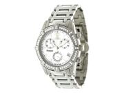 Swiss Precimax Desire Elite SP12080 Women's Mother-Of-Pearl Dial Diamond Quartz Analog Watch