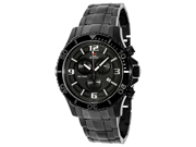 Swiss Precimax Men's Tarsis Pro SP13062 Black Stainless-Steel Swiss Chronograph Watch with Black Dial