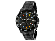 Swiss Precimax Armada Pro SP13051 Men's Black Dial Stainless Steel  Chronograph Watch