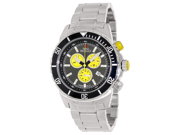 Swiss Precimax Pursuit Pro SP13289 Men's Grey Dial Silver Stainless Steel Chronograph Watch