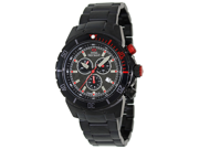 Swiss Precimax Men's Pursuit Pro SP13297 Black Stainless-Steel Swiss Chronograph Watch with Grey Dial