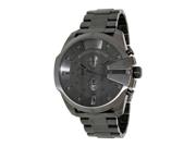 Diesel Men's DZ4282 Grey Stainless-Steel Analog Quartz Watch with Grey Dial