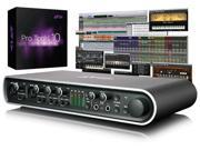 Avid Mbox Pro (3rd Gen) with Pro Tools 10 - 8-channel FireWire Audio/MIDI Interface with 4 Mic Preamps, DI, S/PDIF, Softclip Limiters, and Onboard DSP
