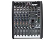 Mackie PROFX8 Compact Effects Mixer W/ USB PA or Recording Mixer with Computer IO
