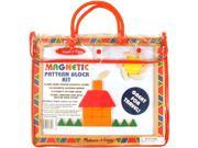 Melissa & Doug: Magnetic Pattern Blocks Set