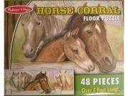 Melissa and Dough Horse Corral Floor Puzzle
