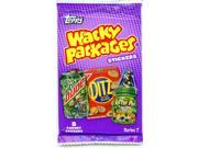 Topps Wacky Packages Stickers Series 7 Pack