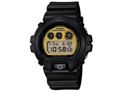 Casio DW6900PL-1 Men's G-Shock Gold Tone Dial Black Resin Polarized Digital Dive