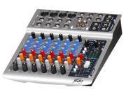 Peavey PV8 8-Ch Compact Mixer PA Mixer