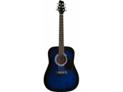Stagg SW2013-4BLS 3/4 Dreadnought Acoustic Guitar Blueburst