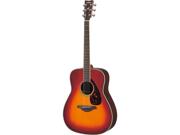Yamaha FG730S Folk Guitar in Vintage Cherry Sunburst