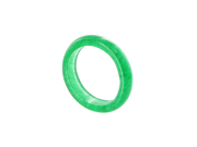Green Soapstone 5mm Wide Band Mens Ring Size 7