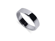 925 Sterling Silver 6mm Mens Band Plain Stunning Ring Size 12