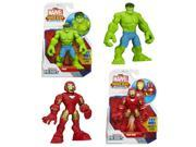 Marvel Super Hero Adventures Figures Wave 1 Set