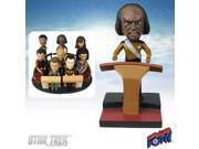 Star Trek: TNG Worf Build-a-Bridge Deluxe Bobble Head 4 of 8