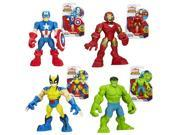 Marvel Super Hero Adventures Figures Wave 2 Case