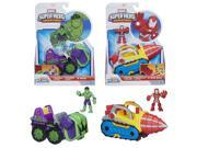 Marvel Super Hero Adventures Vehicles Wave 3 Set