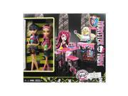 Monster High Creepateria Cleo and Clawdeen Dolls 2-Pack