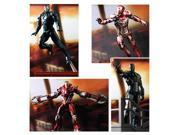 Iron Man 3 Battlefield Collection 1:24 Scale Model Kit Set