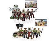 Mega Bloks Assassin's Creed Battalion Packs Series 1 Set