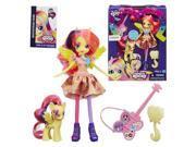 My Little Pony Rainbow Rocks Fluttershy Doll with Pony