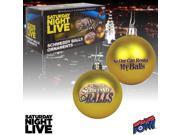 Saturday Night Live Schweddy Balls Ornaments - Set of 2