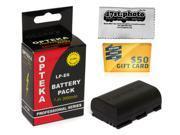 LP-E6 Lithium Battery for Canon EOS 60D 7D 5D Mark II 5D Mark III Camera 70D 6D 7D 5D 60Da 60D 3347B001 LPE6 2000 mAh