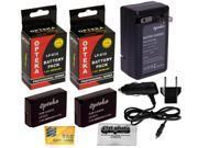 2x LP-E12 LPE12 E12 LP Lithium Battery + Rapid Travel Charger 110V 220V for CANON EOS M 100D Rebel SL1 EOS-M M2